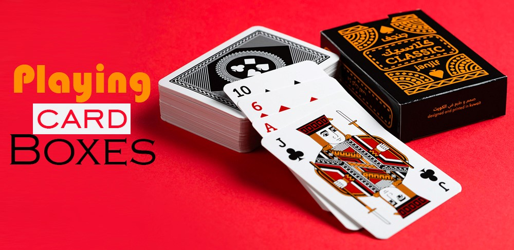 How Printed Playing Cards Boxes Can Improve Your Retail Business