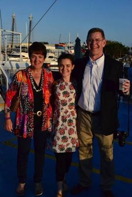 Sunset cruise with my parents