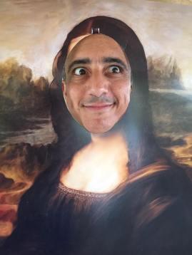 My husband as art