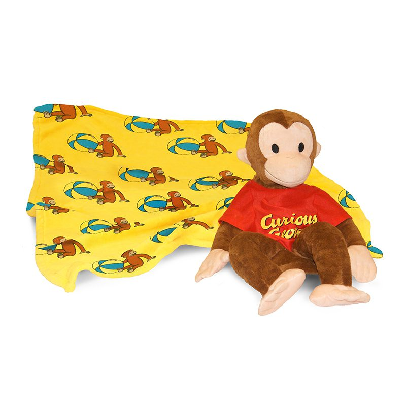 Zoobies-Curious-George-Pillow