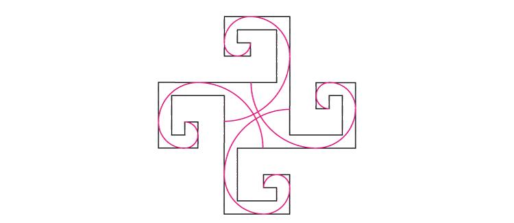 De la Spirale Phi à la Croix Aztèque