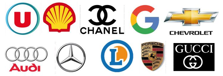 Logos Commerciaux & Géométrie Sacrée