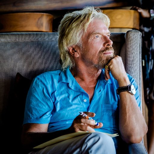 Richard Branson is a leader, the man who built the Virgin Group.