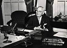 Truman coined the phrase- the buck stops here