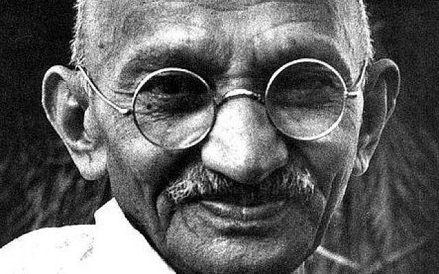 Mahatma Gandhi is a great example of leadership.