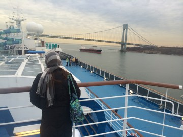 February Cruise Leaving From Manhattan Port