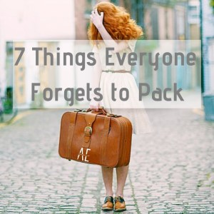 7 Things Everyone Forgets to Pack on their Honeymoon