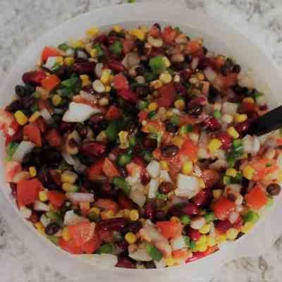 Texas Caviar Recipe AKA Three Bean Salsa