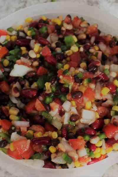 texas caviar recipe, three bean salsa