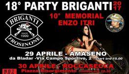 18° Party Briganti