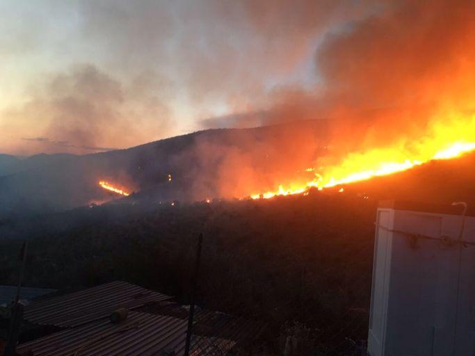 Incendio Cerreta