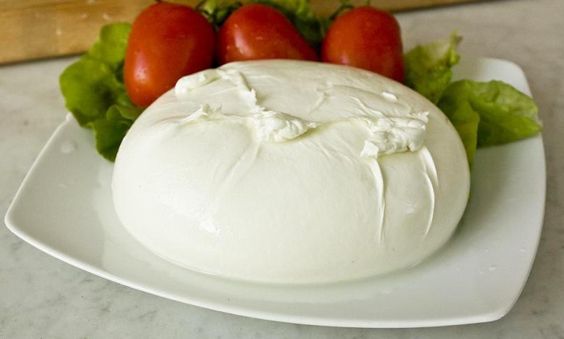 Valori nutrizionali della mozzarella di bufala DOP