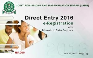 Direct Entry Admission