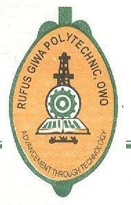Rufus Giwa Polytechnic post ume form