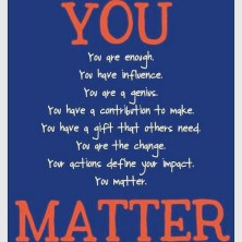 you matter words
