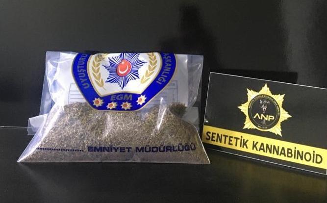 Amasya'da 213 gram bonzai ele geçirildi