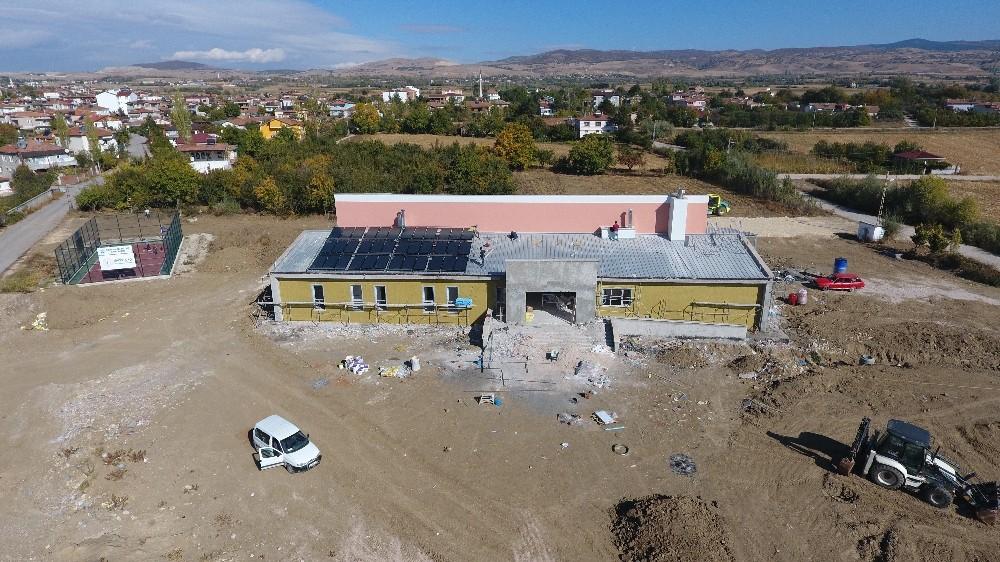 Suluova'da 6 milyonluk dev spor kompleksinde sona gelindi