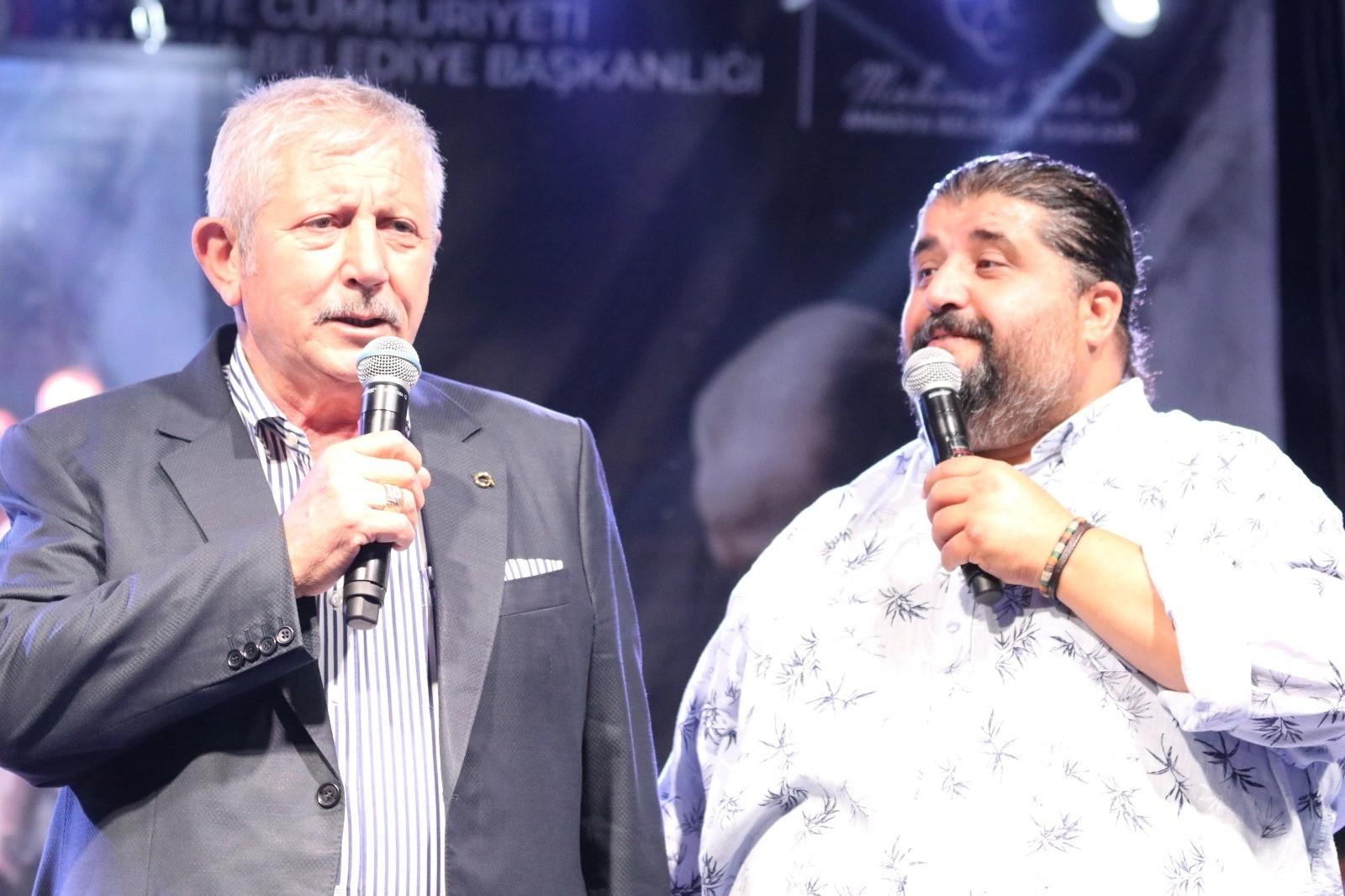 Amasya'da festival coşkusu konserle devam etti