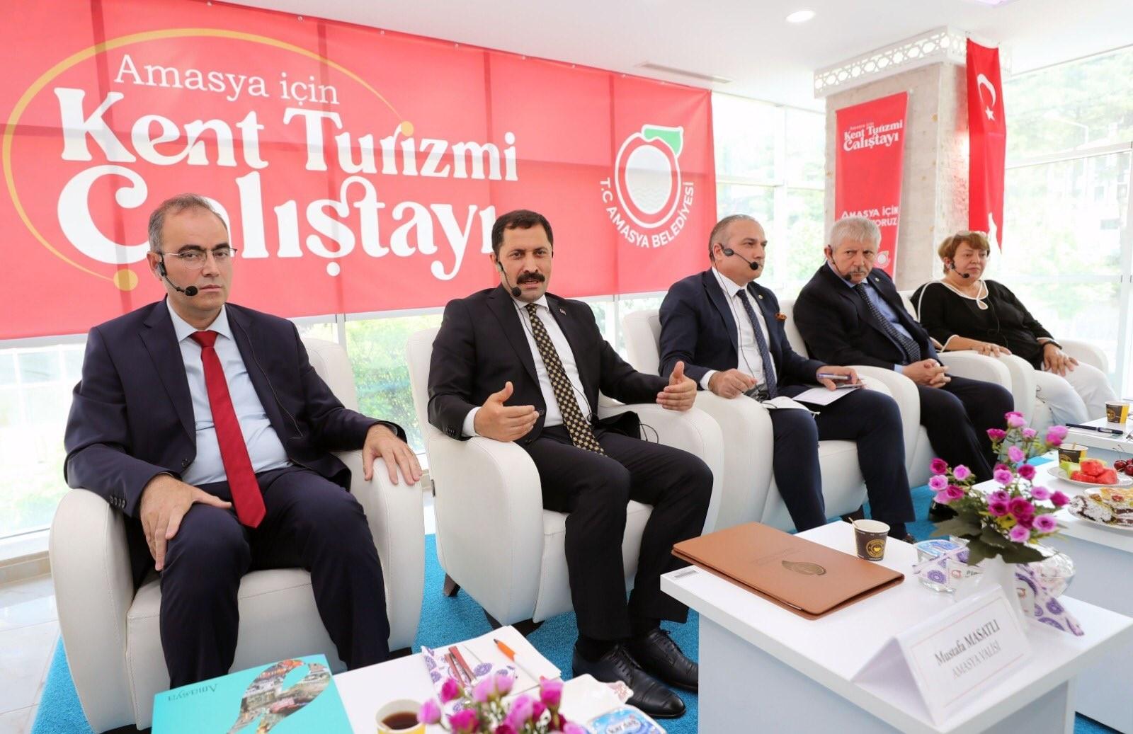 Amasya'da kent turizmi çalıştayı yapıldı