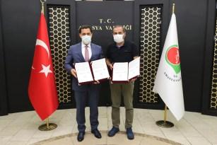 Binali Yıldırım'ın Amasya'ya müjdelediği anaokulunun imzaları atıldı