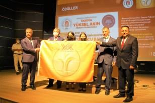 Taşova Yüksel Akın MYO'ya 'Turuncu bayrak'
