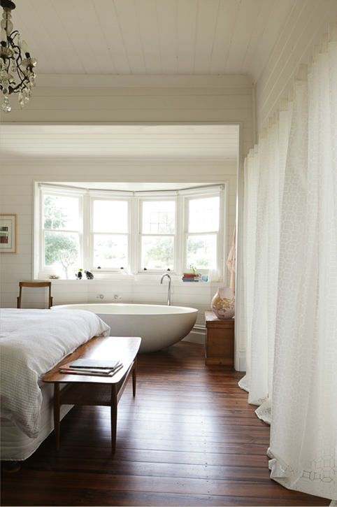 Zona bano e relax in camera