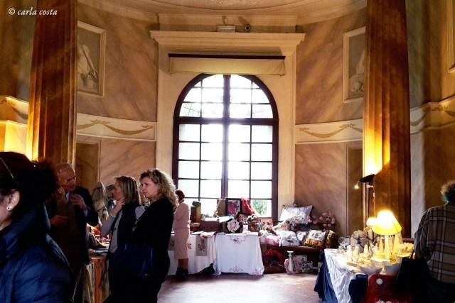 mostra mercato di Natale a Villa Forni
