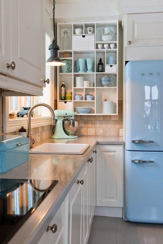 Cucina retro anni Sessanta