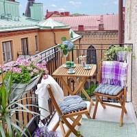 Arredare un balcone di piccole dimensioni