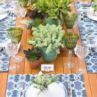 La tavola estiva