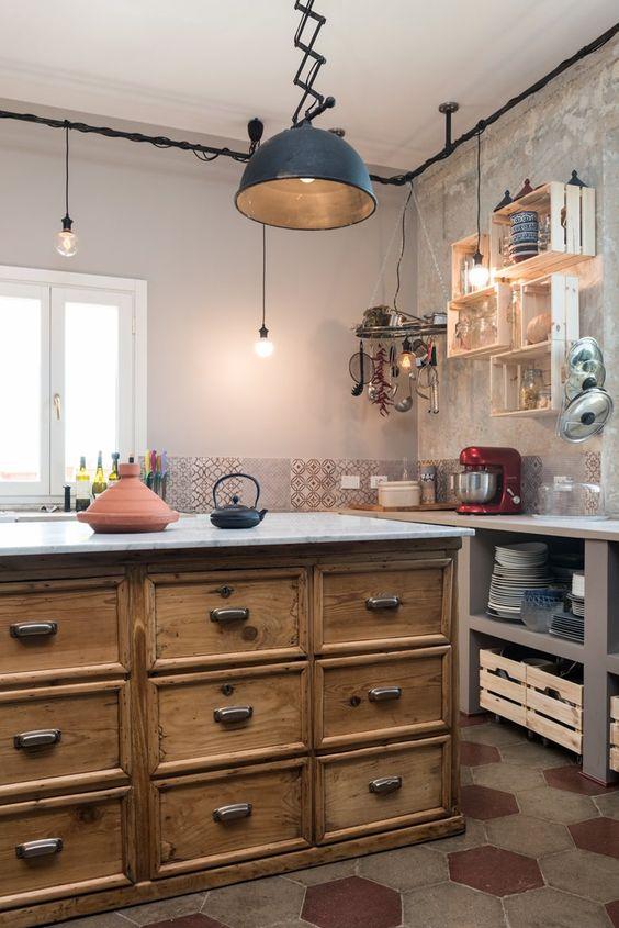 Dettagli in stile industriale per la casa Oggetti vintage per casa