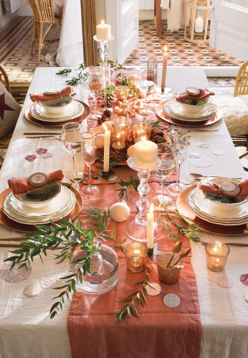 Idee di stile per la tavola di Natale
