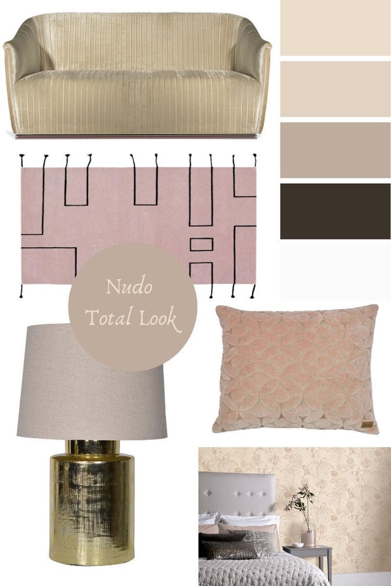 Arredare e decorare casa con i colori nudi