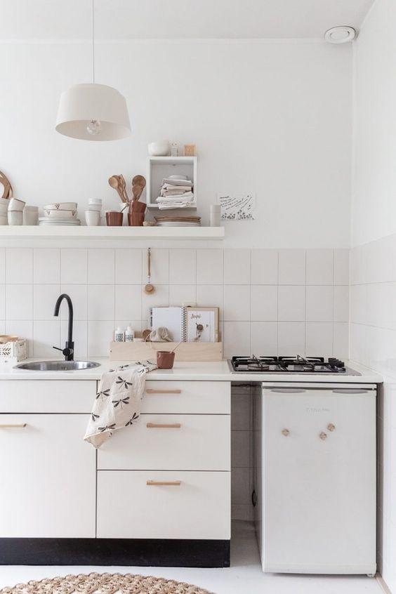 Una cucina slow living su elleinterieur.nl