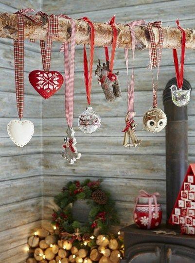 Un bellissimo angolo hygge per il Natale