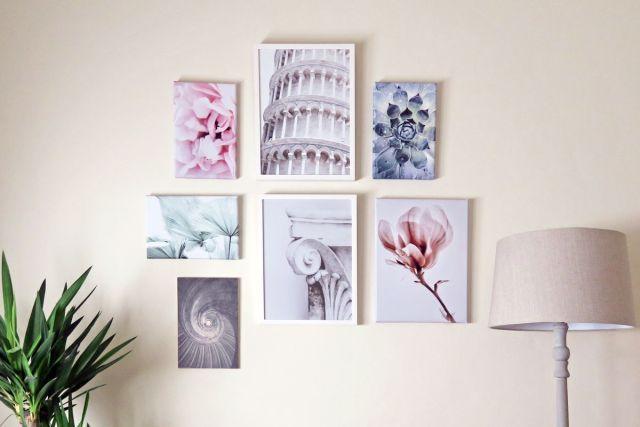Creare una galleria coordinata a parete