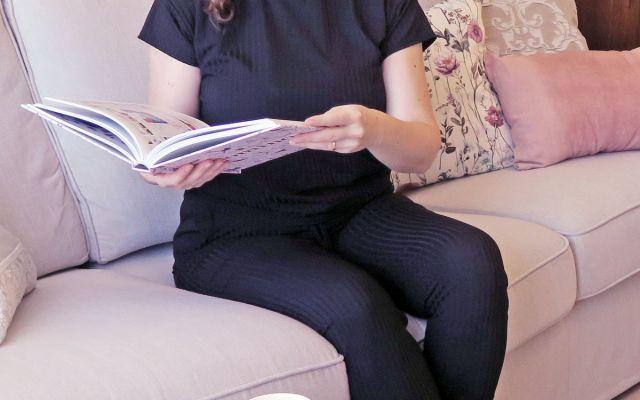 Abbigliamento casual da casa | Black Rib Two Piece Loungewear Set - Aloranna | Femme Luxe Finery