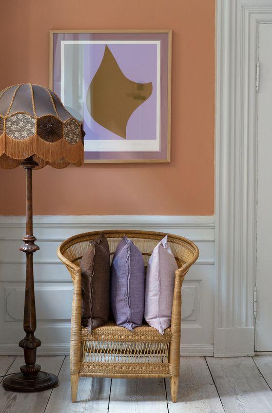 Color lavanda per la casa autunnale