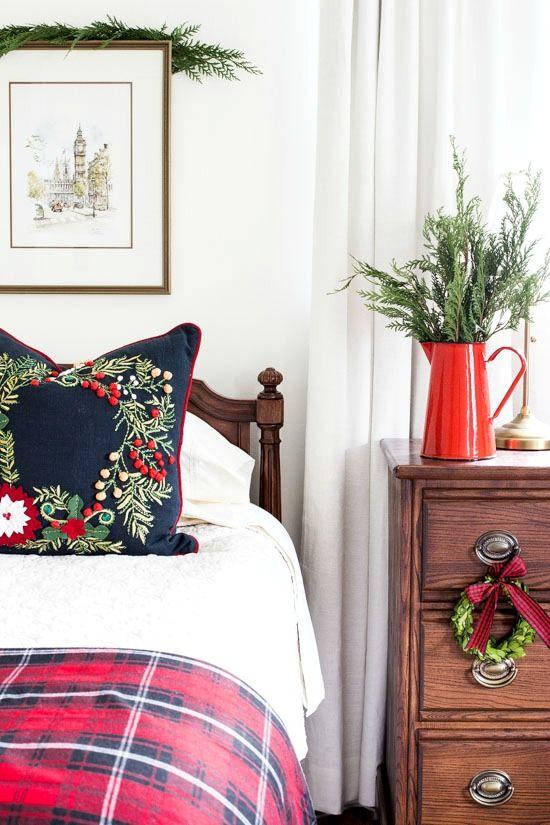 Decorazioni natalizie per la camera da letto su Onsuttonplace