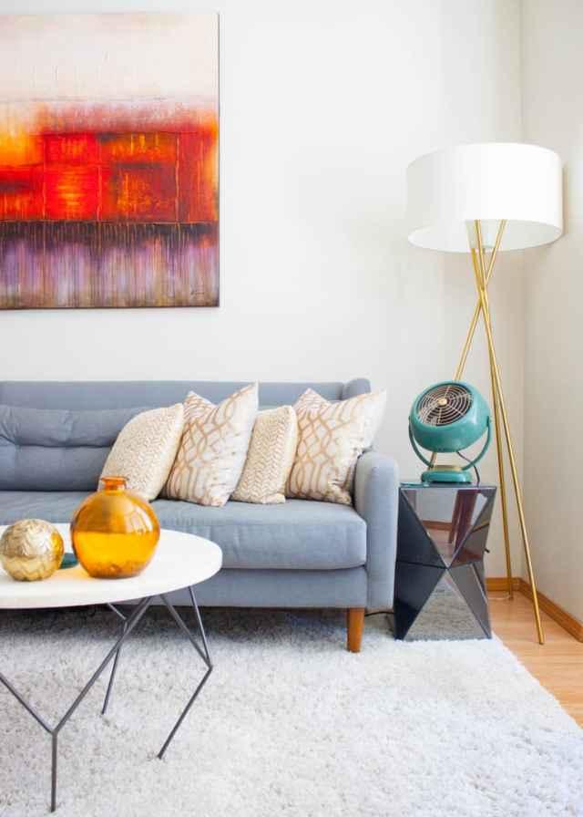 Colore e armonia per il soggiorno