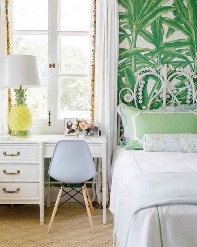 Colore e luminosità per la camera da letto