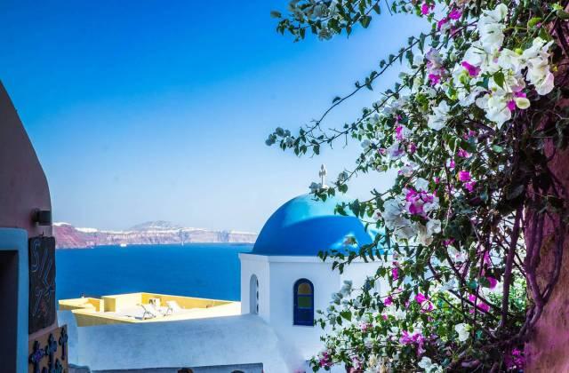 Viaggio di nozze a Santorini