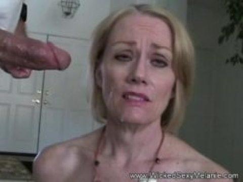 Milf facial amateur granny sucks the doctor