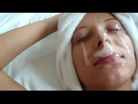 Good Morning Amateur Girlfriend Facial Posted On Tumblr