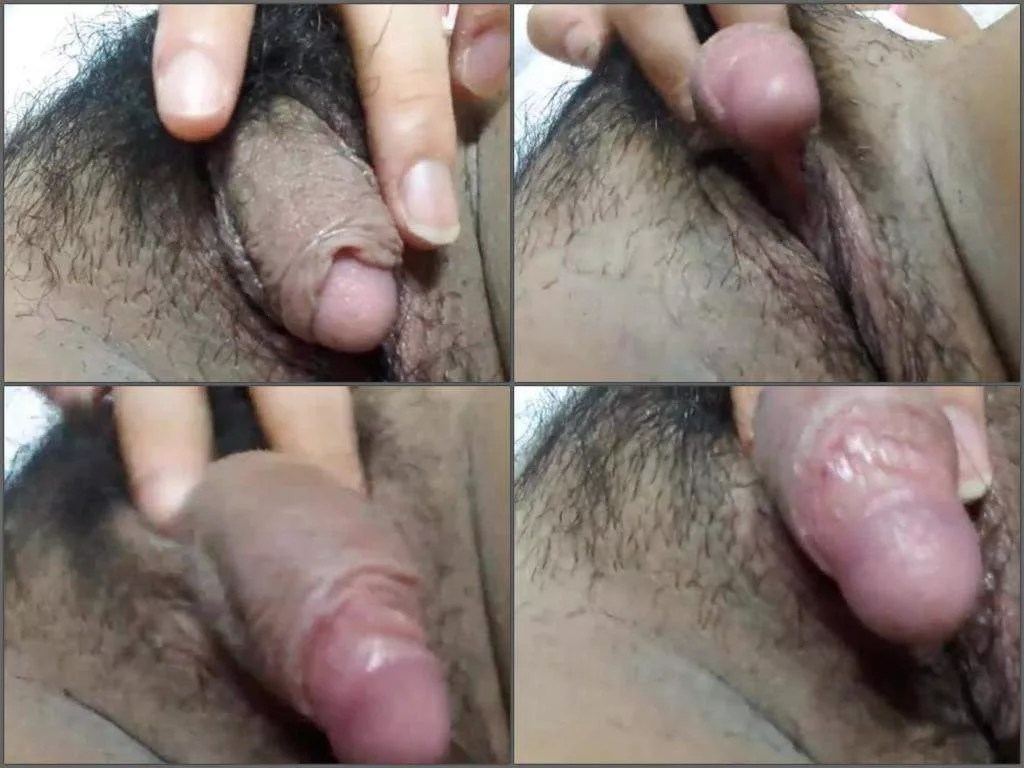 hairy big clit