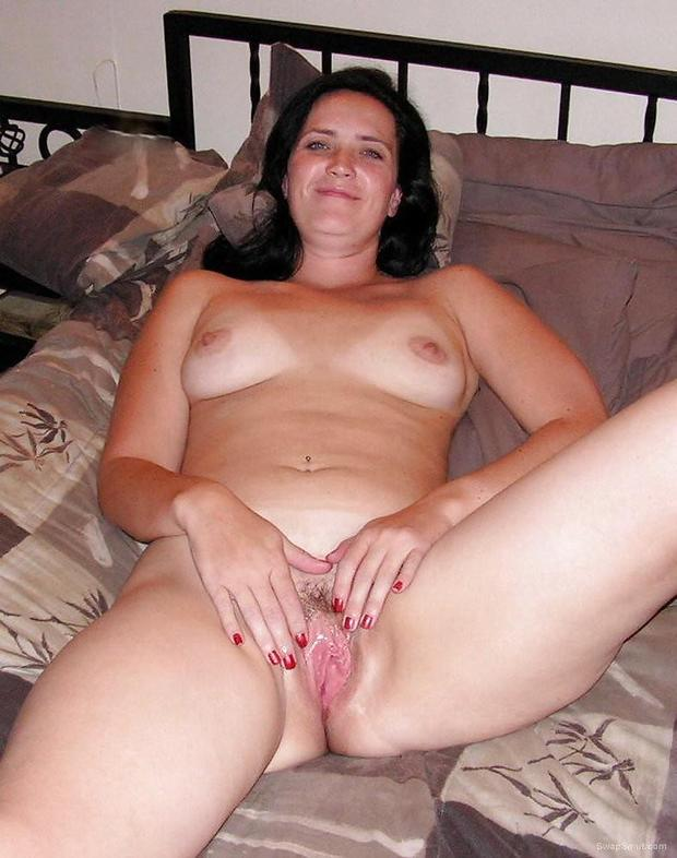 Brunette Hairy Mature Solo
