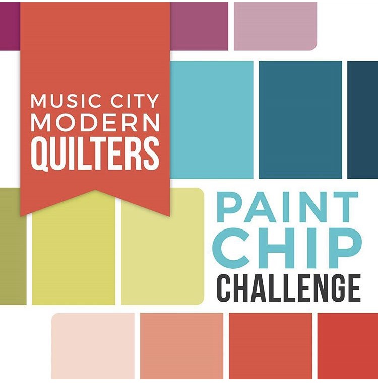 Paint Chip Challenge: Fabric Pull
