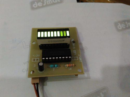 led s.meter green