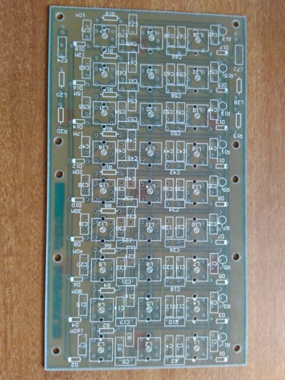 Multiband Band Pass Filter PCB