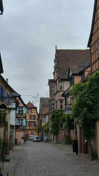 Riquewihr village